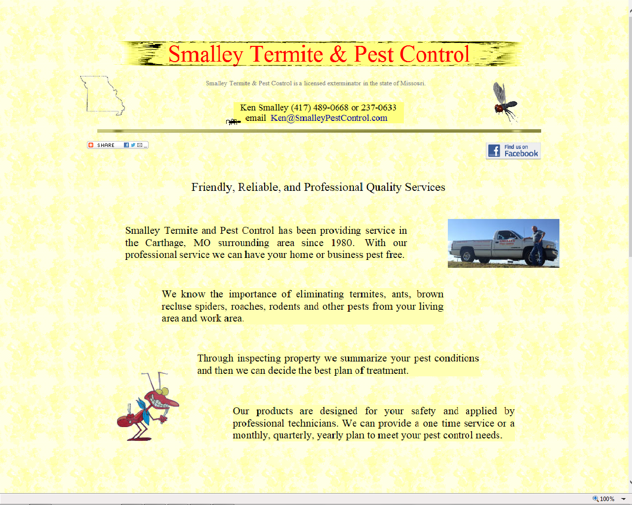 Smalley Pest Control